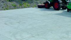 Dalles de béton agricoles SIMtop